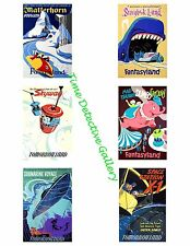 Disney Posters #2 - Photo Collage for Scrapbooking / Crafts / ATCs / ACEOs