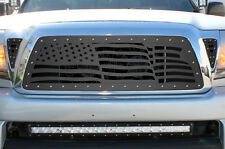 Custom Aftermarket 05-11 Toyota Tacoma TRD Grille Stainless Steel Rivet USA FLAG