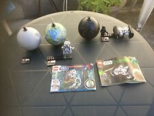 LEGO STAR WARS REF 75008 tie bomber+Endor Planet REF 9679+PLANETE DEATH STAR