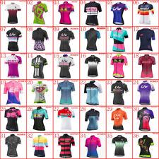 2019 New Women Cycling Jersey Summer Team Bike shirt bicycle Tops Sports Uniform