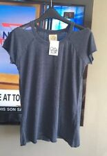 Chaser Size S  Washed Navy Cutout T Retail $68