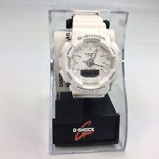 Casio G-Shock Tough Step Tracker Watch S series GMAS130-7A Brand New White