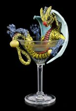 Dragons Figurine Im Martini Verre - Stanley Morrison Drachenjunges Martinidrache