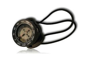 Termo Bungee Tauch Kompass schwarz +/- 30° Diving Compass High-Tilt Angle