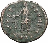 DIVUS Constantine I the Great RARE 342AD Ancient Roman Coin Aequitas i55861