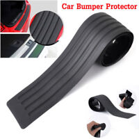 Universal Car Rear Bumper Sill Protector Plate Rubber Cover Guard Trim Pad 90cm