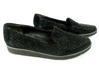 Paul Green Calissa Sneaker Suede Black Flats Sequin Women Sz 6.5 UK 8.5 US