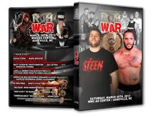 ROH Wrestling: WAR DVD, Kevin Steen Mark Briscoe Truth Martini Jay Lethal ACH