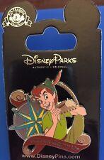 Peter Pan Never Grow Up Pin with Compass Disney June 2016 Park Pack 116729