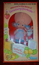 Vintage Strawberry Shortcake Apricot Doll with Hopsalot In Original Box #43370