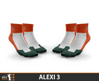 Alexi 3 Ladies Cushioned Coolmax Golf Socks 2 Pairs