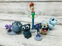 Disney Store Junior Puppy Dog Pals Figurines Bundle Collection Cake Toppers