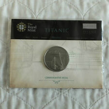 TITANIC REMEMBERED ROYAL MINT COMMEMORATIVE 38mm MEDAL - still mint sealed