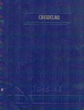 Chewelah Washington High School Yearbook 1946 Chewelan