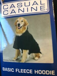 Fleece Hoodie For Dogs Large 20""
