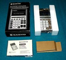 "Vintage/New : SANYO ""Electronic Calculator"" CX 2310 @ Rare JAPAN"