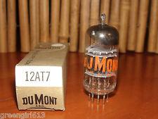 Vintage Dumont 12AT7 ECC81 3MICA BK pts D-Getter Stereo Tube 1960 V Strong #6038