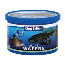 King British Algae Wafers 100g - Pleco Catfish Tropical Fish Zebra Pleco Discus