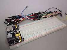 Netzteil-Adapter + Steckboard mit 830 Kontakten+65x Jumper, Versand Frei! - E612