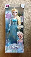 Disney Frozen Elsa of Arendelle Singing Doll Nip motion Vhtf Rare store Fastship