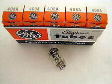 5 Pcs NOS GE 408A - audio radio Preamp Tubes NIB