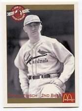Frank Frisch Baseball Card 7 St. Louis Cardinals 1892-1992 All-Time Team
