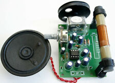 AM Radio Circuit using IC MK484 Assembed kit 4.5-9VDC [ Exclued the spekers ]