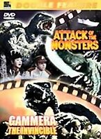ATTACK of the MONSTERS/GAMMERA the Invincible (DVD, 2005) 2 Movie Set/Classics