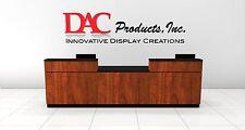 Retail Sales Counter - Cash Wrap Counter - Storage POS Checkout Desk