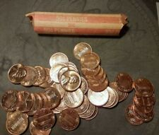 1961 1962 1963 1964 PROOF LINCOLN CENT PENNEY MIXED ROLL 50 COINS IN A TUBE