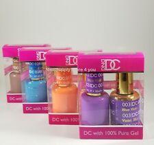 DND DC - Duo Soak off Gel & Matching Nail Polish (#001 - 072) - Choose Colors