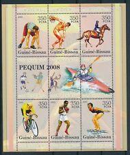 DEPORTES / SPORTS - GUINEE-BISSAU 2005, MNH sheet