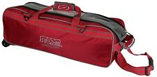 Storm 2 & 3 Ball Tournament Tote Bowling Bag 1 Each Triple Red-double Blue