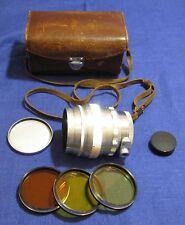 EXC! HELIOS 40 1.5/85 M39 Russian ORIGINAL USSR Lens Bokeh King 1962 year made