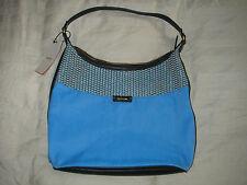 New Kipling HB6632-407 Averina Handbag - Blue Woven Mix