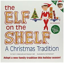 Elf on the Shelf: A Christmas Tradition blue-eyed girl scout elf