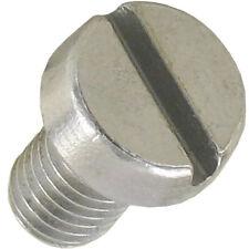 50 Stück Schrauben Zylinderkopf M5x8 Schlitz Metall galv. veredelt deutsche Ware