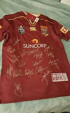 QLD State of Origin Authentic signed Jersy