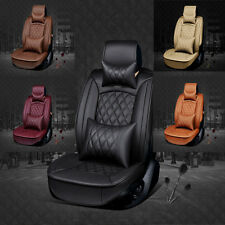 NEW 5 Seat Full Surround PU Leather Winter Car Seat Cushion Cover Multi-color