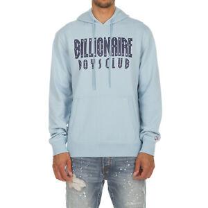 Billionaire Boys Club Patch Pullover Hoodie # 871 9304 Grey Men SZ M 2XL