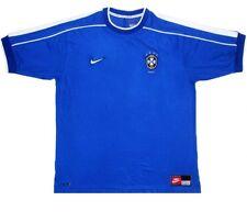 Collector - Maillot Equipe du Brésil Coupe du Monde 1998 (extérieur)