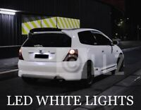 HONDA CIVIC EP3 01-05 LED XENON WHITE NUMBERPLATE LIGHT BULBS UPGRADE ERROR FREE