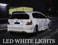 HONDA CIVIC EP3 01-05 LED XENON WHITE NUMBERPLATE LIGHT BULBS UPGRADE ERROR FREE