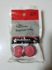 "Radio SHack 1"" (25mm) Red Control Knobs (2)"