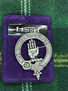 Lamont Clan Bonnet Badge - Made in Scotland