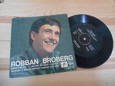 "7"" Pop Robban Broberg - Maria-Therese (4 Song) COLUMBIA"