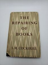 The Repairing of Books by Sydney Cockerell -  1st edition 1958  Bookbinding