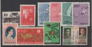 D2544: Chine, Formose Excellent État Timbres; Cv