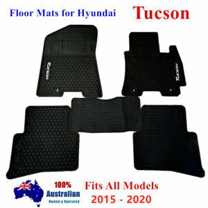Waterproof Rubber Floor Mats Tailor Made For Hyundai Tucson 2015 - 2020
