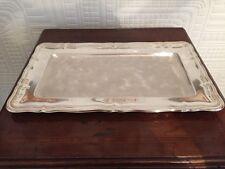 Lovely Silver Plated Wmf Ikora Long Tray